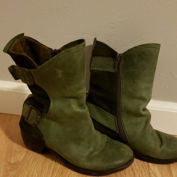 FLY London leather boots